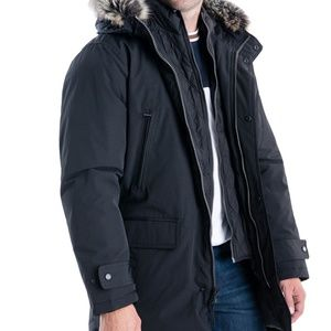 Michael Kors Men's Hooded Bib Snorkel Parka